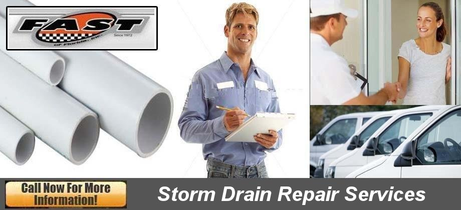 Blue Works, Inc. Storm Drain Repair
